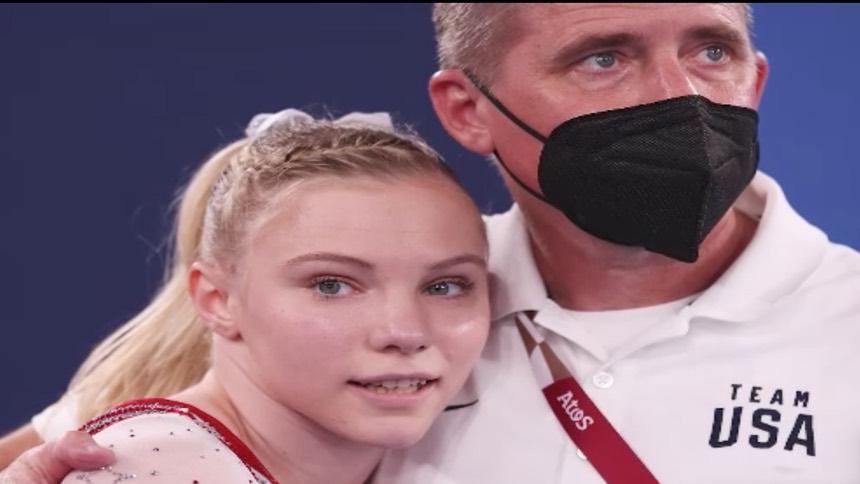 美国队凯里夺女子自由体操金牌 女排女篮都闯入1/4决赛