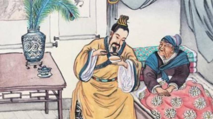 Hán Văn đế thử thuốc cho mẹ