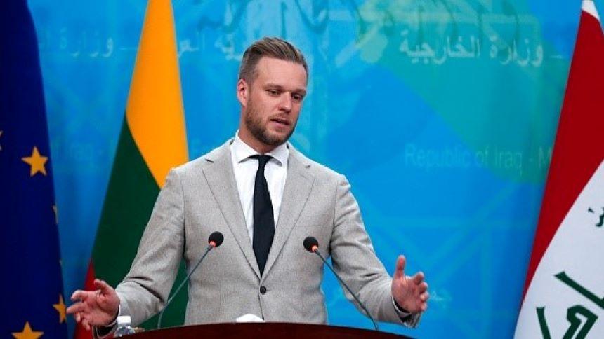 13号,蓝斯柏吉斯启程赴华府访问,与布林肯会晤(图片来源:AHMAD AL-RUBAYE/AFP via Getty Images):)
