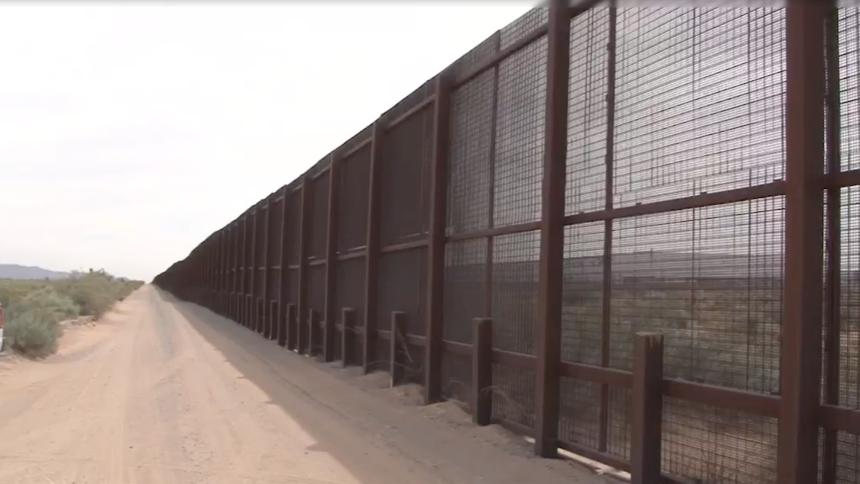 已經建成的界牆