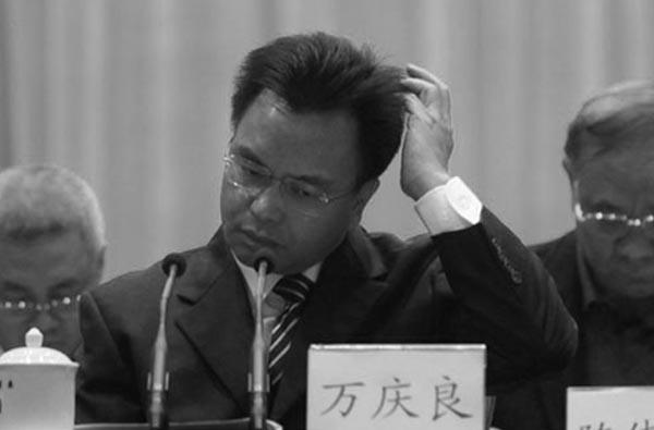 广州万庆良落马 曾遭国际追查