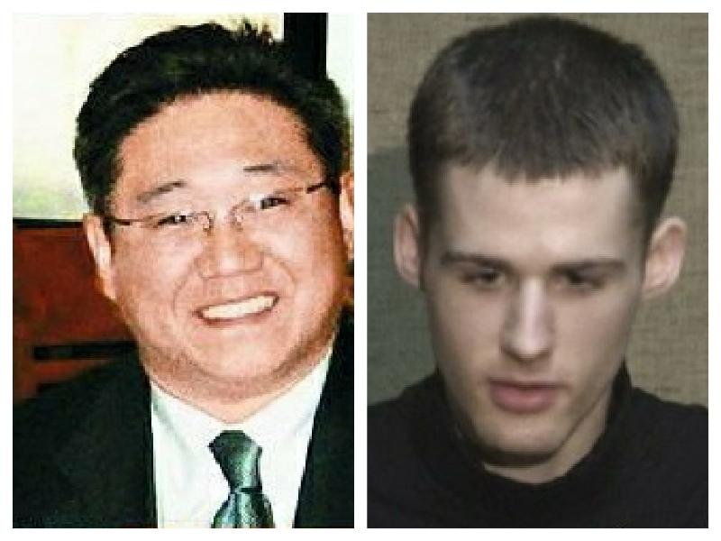 朝鲜当局监禁的两位美国人 昨晚获释