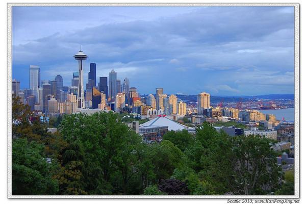 美丽的西雅图,惊艳的玻璃艺术(组图)