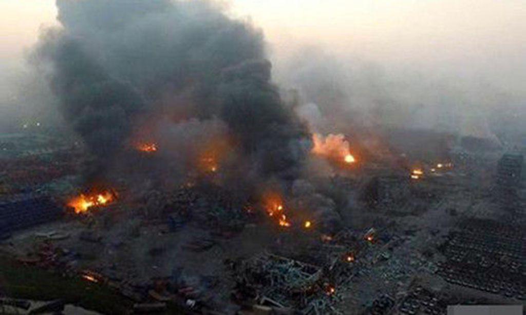 天津爆炸案涉嫌非法输送国家利益