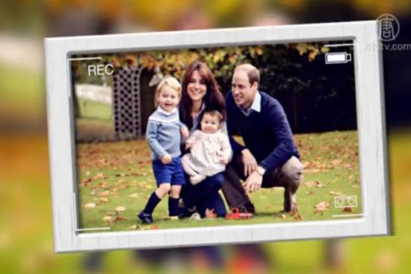 圣诞节前 英威廉王子晒全家福答谢各界