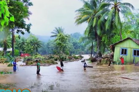 仿佛世界末日!所罗门群岛5座小岛被海水吞没