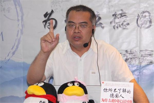 杨佩昌:到德国后我的信念完全变了