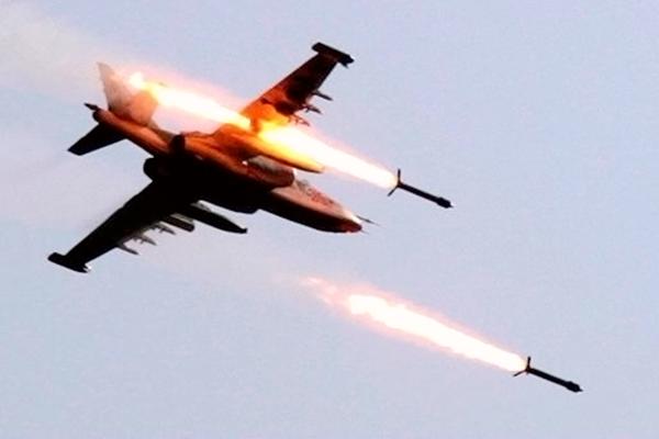 俄罗斯战机空袭叙利亚 至少45人死亡