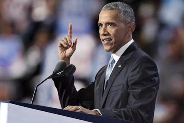 民主党大会第三天:奥巴马演讲挺希拉里接任