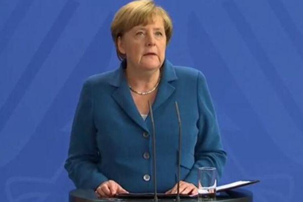 德国连发恐怖事件 默克尔表示绝不会松懈
