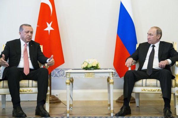 土俄两国总统称共同加紧援助阿勒颇 两国关系再度升温