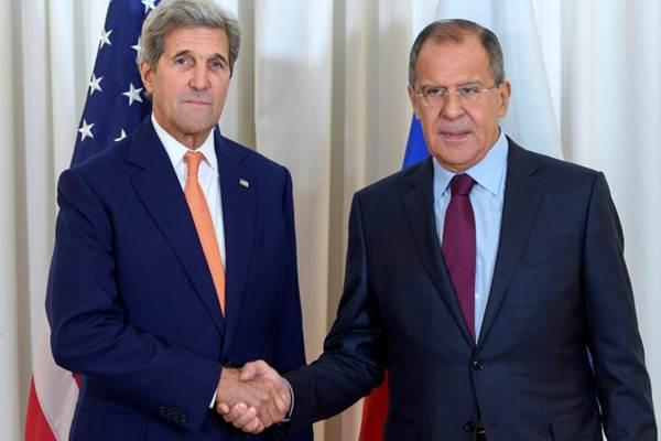 克里和俄外长会晤 商讨叙利亚和平谈判