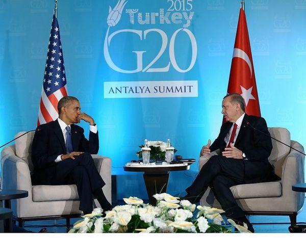 联手打击伊斯兰国 奥巴马G20将会晤土耳其总统