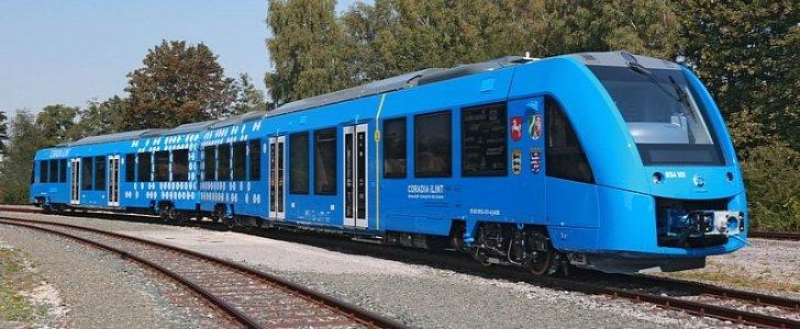 法国公司研发成功首列氢动力机车