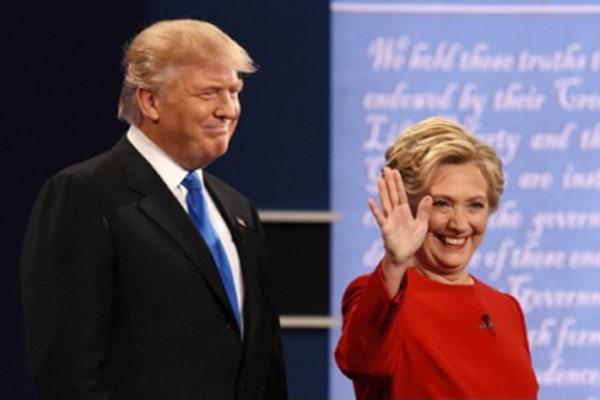 美国十大媒体民调:川普赢得首场辩论