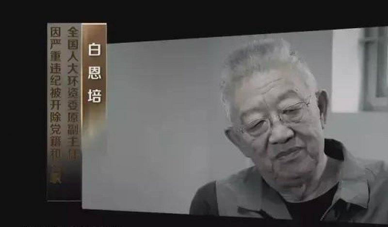 官民齐曝白恩培夫妻丑闻 敛财吸毒培养刘云山