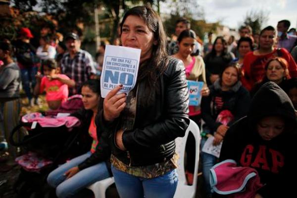 """""""马克思主义的FARC不可信"""" 哥伦比亚公投拒绝和平协议"""